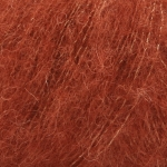 Włóczka DROPS Brushed Alpaca Silk 24 - rdza