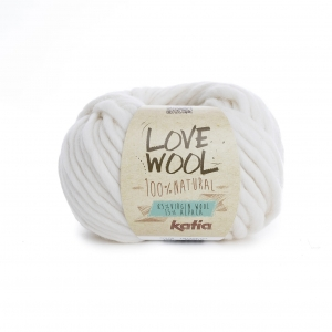 KATIA Love Wool 100 - ecru