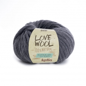 KATIA Love Wool 107 -  szary