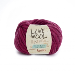 KATIA Love Wool 116 - fuksja