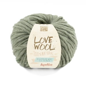 KATIA Love Wool 127 -  szałwia